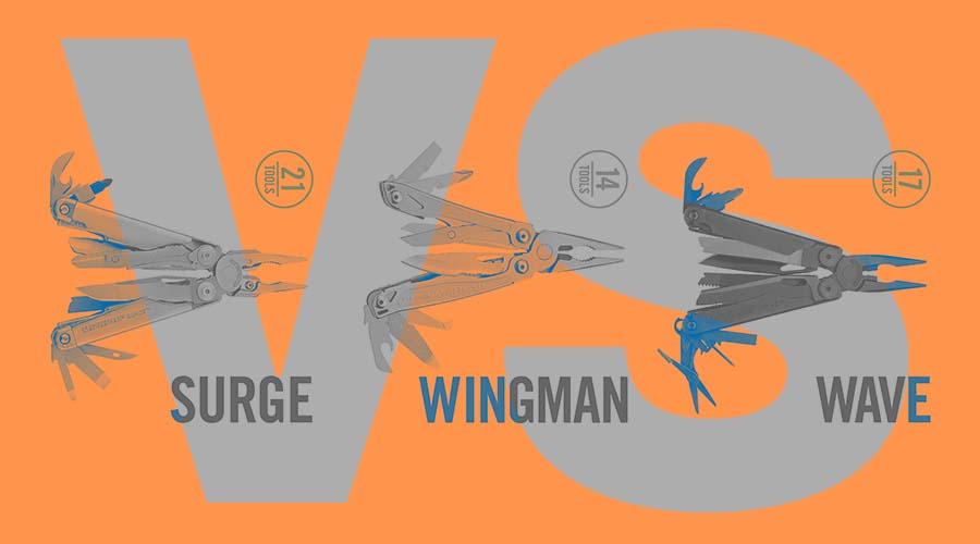 Leatherman Surge vs Wave vs Wingman – Multi-Tool Comparison