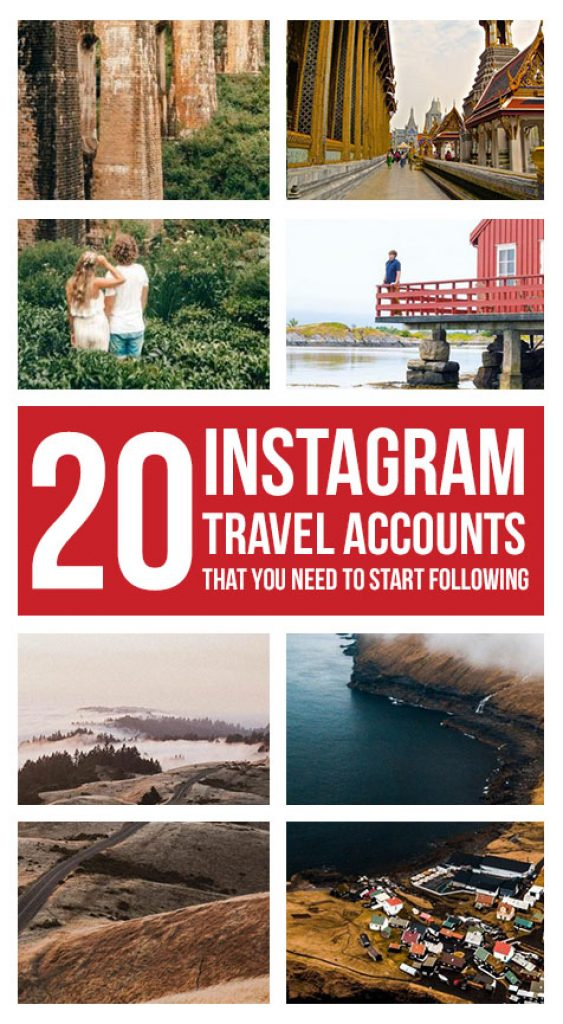 Travel Instagram Accounts That You Need to Start Following now