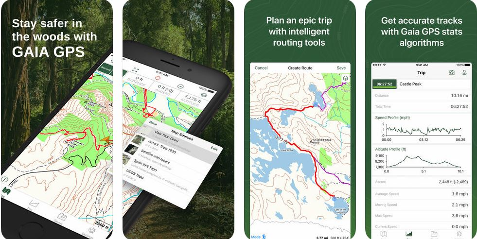 Gaia GPS Hiking App