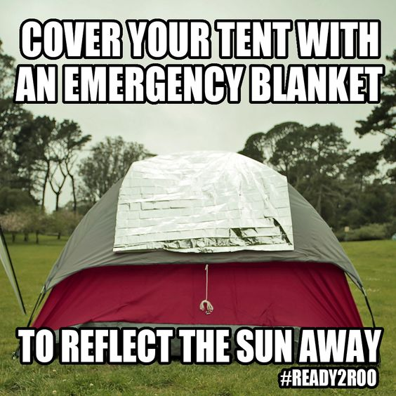 2. Keeping your tent cool