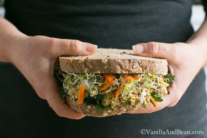 14. Chickpea Salad Sandwich