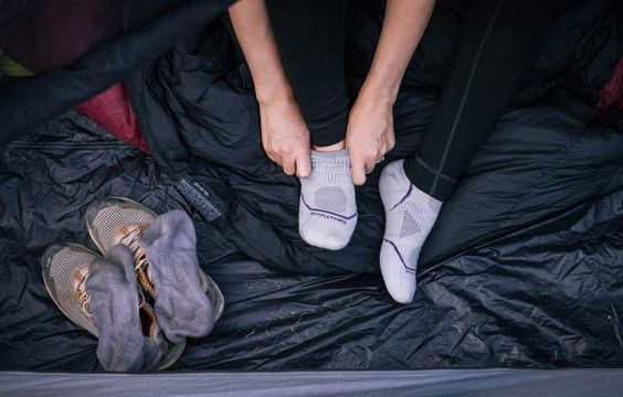 Keep a pair of clean socks for sleeping only
