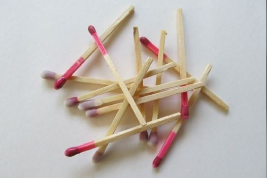 Keep your matchsticks safe and dry