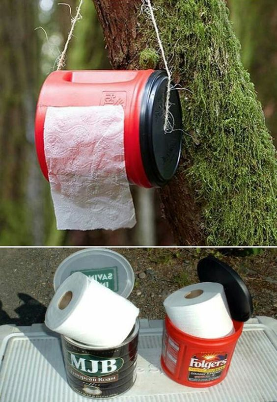 Keeping the toilet paper safe and dry