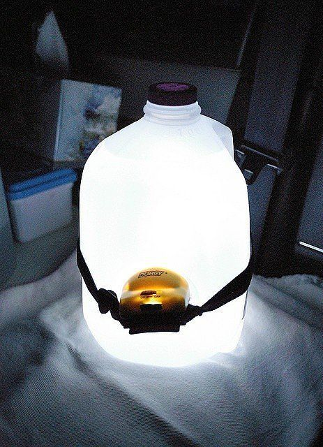 Make a makeshift lantern