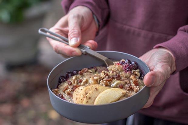 Quinoa and Apple Pie Porridge