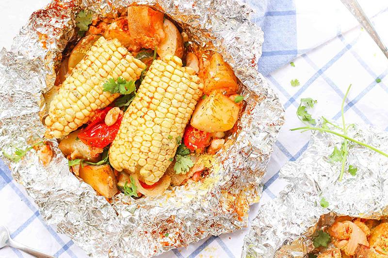 Vegetable Foil Packs for Summers