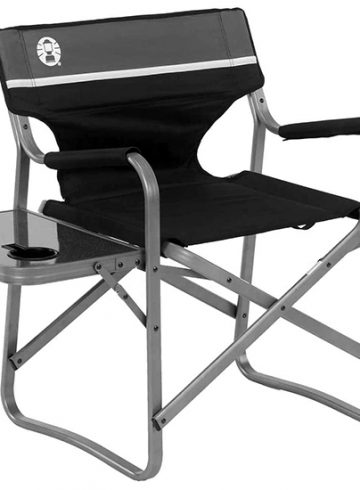 Coleman Camping Chair with Side Table (Budget-Friendly & Sturdy)