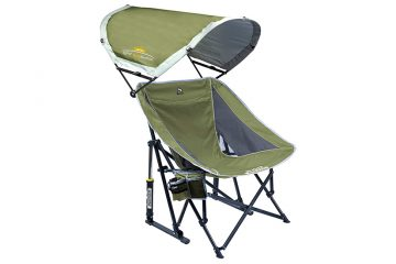 GCI Outdoor Pod Rocker Collapsible Rocking Chair - Made for Shade!