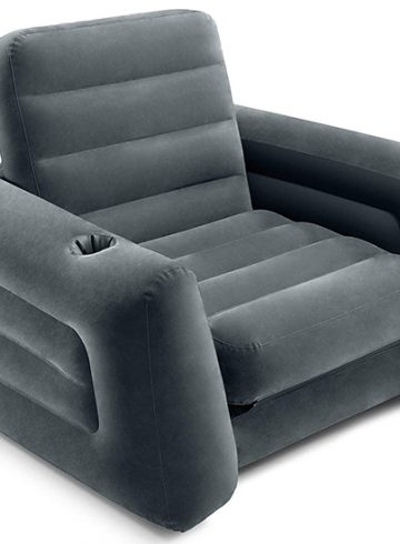 Intex Pull-Out Chair Inflatable Bed Review - Versatility At Its Finest