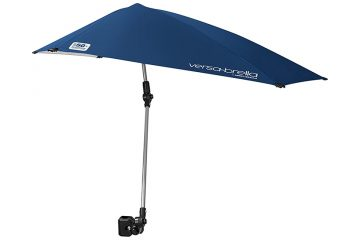 Sport-Brella Versa-Brella SPF 50+ Adjustable Umbrella with Universal Clamp: For Your Shaded Needs on the Go