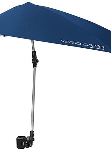 Sport-Brella Versa-Brella SPF 50+ Adjustable Umbrella with Universal Clamp: For Your Shaded Needs on the Go