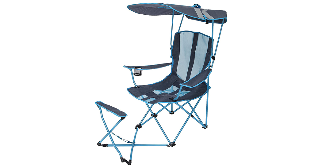 SwimWays Kelsyus Original Canopy Chair with Ottoman Review