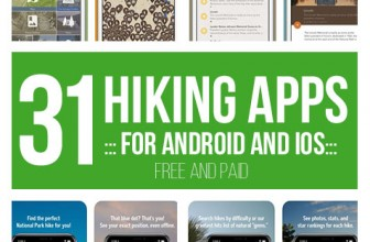 31 Best Hiking Apps for Android and iOS (FREE and PAID